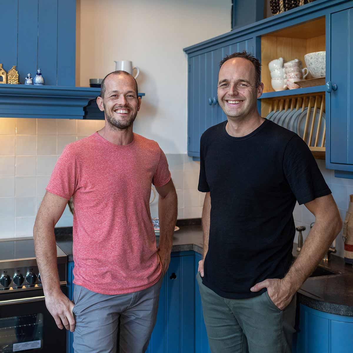 Ernst van Schelven en Richard Hoogendoorn - Schoonhoven keukens
